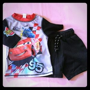Boys shorts outfit